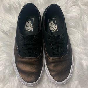 Vans 2-Tone Metallic Authentic Sneakers, sz 6.5